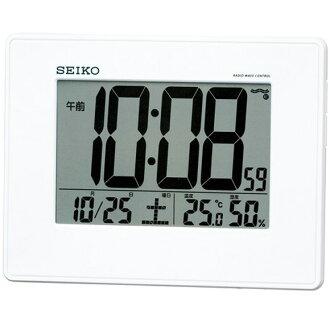 精工 (Seiko) 時鐘數位掛放中性? 時鐘收音機 SQ770W