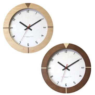 掛け時計 丸型 電波時計 ラウンドエッジクロック 日本製 (FO-V0050)