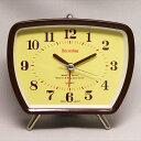 置き時計 置時計 目覚し アラーム レトロ ベル レコード 録音 メタル 音声 寝室 記念品プレゼントギフト卒業記念 内祝い 引き出物 贈答品 レコーディング目覚まし時計 (SJ-RD003BR)【10P01Oct16】
