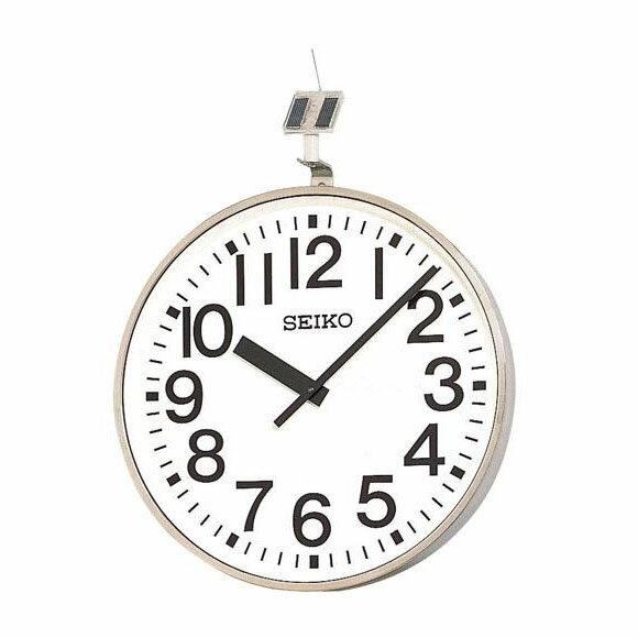 【エントリーで★最大ポイント10倍!】 【】 SEIKO セイコー 壁掛型 電波時計・ソーラー式 屋外用  (QFC-707)  【smtb-tk】 (検)|時計|掛け時計|掛時計|かけ時計|木製【10P05Nov16】:インテリア雑貨a-mon(エエモン)