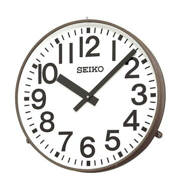 【エントリーで★最大ポイント10倍!】 【 送料無料 】 SEIKO セイコー 壁掛型 電波時計・交流電流式 屋外用 (SFC-903R) (検) 時計 掛け時計 掛時計 かけ時計 木製