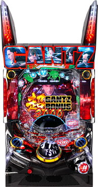 オッケー. Pぱちんこ GANTZ : 2『バリューセット3』[パチンコ実機][A-コントローラーPlus+循環リフター/家庭用電源/音量調整/ドアキー/取扱い説明書付き〕[中古]