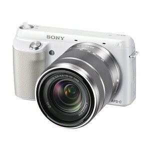SONY NEX-F3K ズームレンズキット ホワイト [デジタル一眼カメラ 18-55mm F3.5-5.6 OSSレンズ]...