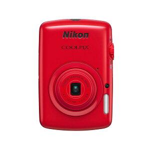 NIKON COOLPIX S01 RD [デジタルカメラ レッド]【送料無料】NIKON COOLPIX S01 RD