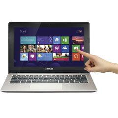 最新OS、Windows8搭載。10点マルチタッチ対応のマルチタッチスクリーンを搭載。【送料無料】ASU...