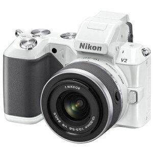 特別な一瞬を逃さずとらえるための新機能「スロービュー」を搭載。【送料無料】Nikon 1 V2 標準...