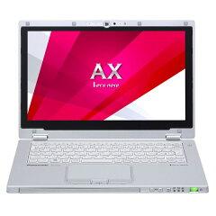 ノートPCとタブレットの1台2役。ハイブリッド・モバイル AXシリーズ。【送料無料】PANASONIC CF-AX3YEBJR シルバー Let's note AX3 [ウルトラブック 11.6型液晶 SSD128GB]
