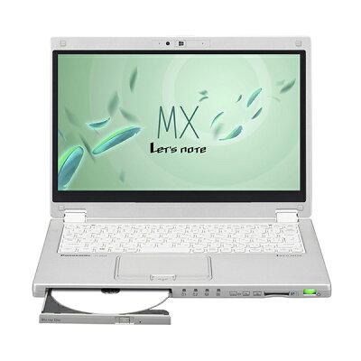【楽天スーパーSALE 50%OFF】PANASONIC CF-MX4JDYBR シルバー Let's note MXシリーズ [ウルトラブック 12.5型ワイド液晶 SSD256GB ブルーレイドライブ]
