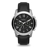 【送料無料】FOSSIL(フォッシル) FS4812 ブラック GRANT(グラント) [腕時計]