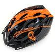 DOPPELGANGER DH001 ブラック×オレンジ Vento(ヴェント) [自転車用ヘルメット(S-Lサイズ)]