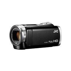 【送料無料】JVC GZ-E155-B [フルハイビジョンデジタルビデオカメラ (内蔵メモリ8…