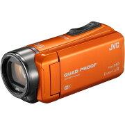 ビクター オレンジ エブリオ フルハイビジョンメモリービデオカメラ バッテリー アウトドア
