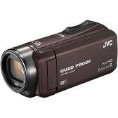 【送料無料】【あす楽】JVC (ビクター) GZ-RX600-T ブラウン Everio(エブリオ) [フルハイビジョンメモリービデオカメラ(64GB)(フルHD)] 約5時間連続使用のロングバッテリー 防水 防滴 防塵 耐衝撃 耐低温 アウトドア