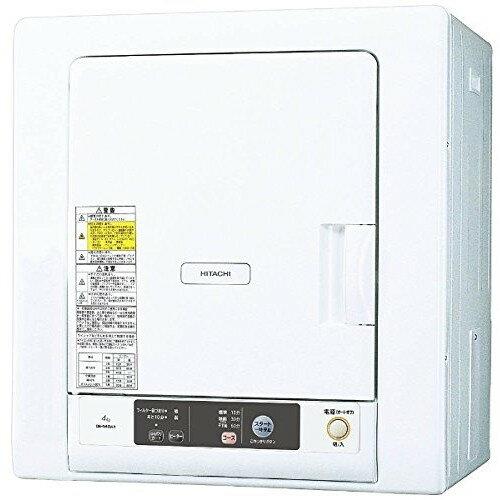 【送料無料】日立 DE-N40WX(W) ピュアホワイト [衣類乾燥機 (4kg)] DEN40WXW