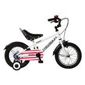 【送料無料】GIC KID'S14BMX ホワイト(33859) [子供用自転車(14インチ・補助輪付き)]【同梱配送不可】【代引き不可】【沖縄・離島配送不可】