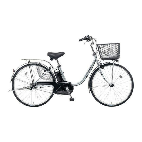 PANASONIC BE-ELF63-S モダンシルバー ビビ・FX [電動自転車(26インチ・内装3段変速)]【同梱配送不可】【代引き不可】【本州以外の配送不可】:A-PRICE
