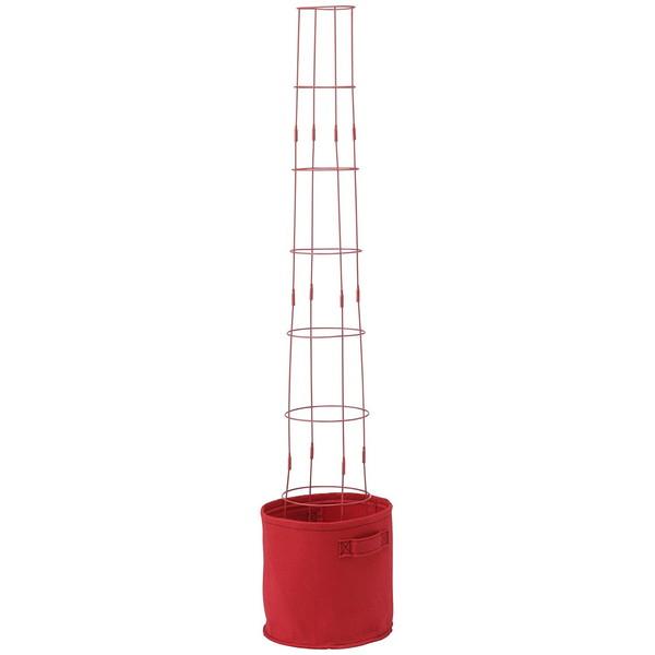 タカショー 菜園タワーセット レッド FL-06R
