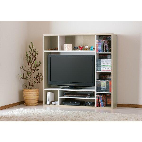 収納家具, テレビ台・ローボード  AOR-1212AV-WH TV