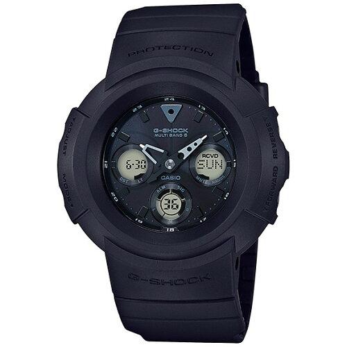 CASIOAWG-M510SBB-1AJFG-SHOCKMULTIBAND6[ソーラー充電腕時計メンズ]