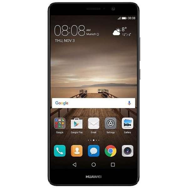ライカダブルレンズを搭載した5.9型SIMフリースマートフォン【送料無料】Huawei Mate 9/Black/51...