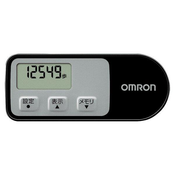 OMRON HJ-321BK オムロン 歩数計 ウォーキングスタイル ブラック