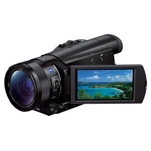 【5台限定】SONY FDR-AX100 [デジタル4Kビデオカメラレコーダー(1420万画素)]