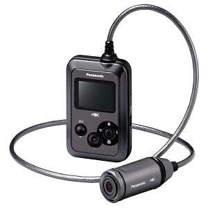 【30台限定】PANASONIC HX-A500-H グレー [4Kウェアラブルカメラ]