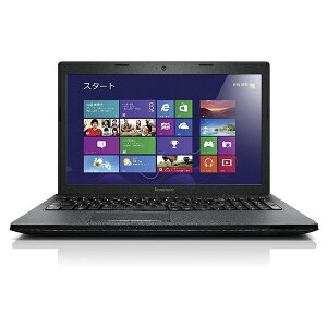 【5台限定】Lenovo 59417138 ブラック G500 [ノートパソコン 15.6型ワイド液晶 HDD320GB DVDスーパーマルチ]