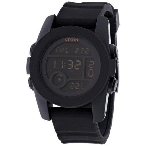 NIXONA490001THEUNIT40オールブラック[腕時計]