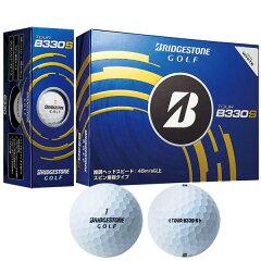 BRIDGESTONE ツアー B330S ゴルフボール ホワイト 1ダース