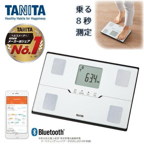 体組成計 タニタ bluetooth スマホ連動 アプリで管理 BC-768-WH タニタ 体重計 体脂肪計 内臓脂肪 BMI 体内年齢 筋肉量 健康管理 ダイエット コンパクト BC768 TANITA