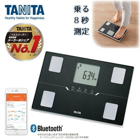 体組成計 タニタ bluetooth スマホ連動 アプリで管理 BC-768-BK タニタ 体重計 体脂肪計 内臓脂肪 BMI 体内年齢 筋肉量 健康管理 ダイエット コンパクト BC768 TANITA
