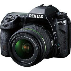 ペンタックス デジタル一眼カメラK-5 DA 18-55mm F3.5-5.6AL WR レンズキット【送料無料】PENTA...