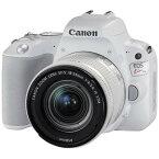 【送料無料】CANON EOS Kiss X9 EF-S18-55 IS STM レンズキット ホワイト [デジタル一眼カメラ (2420万画素)]