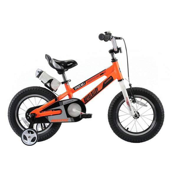 ROYAL BABY RB-WE SPACE NO.1 16 orange (35985) [子供用自転車(16インチ)補助輪付き]【同梱配送不可】【代引き不可】【沖縄・北海道・離島配送不可】:A-PRICE