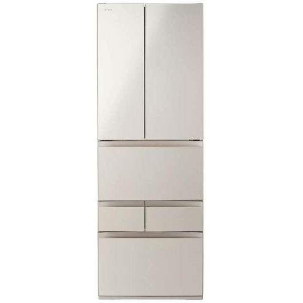 【送料無料】東芝 GR-M510FD(EC) サテンゴールド VEGETA FDシリーズ [冷蔵庫(509L・フレンチドア)]