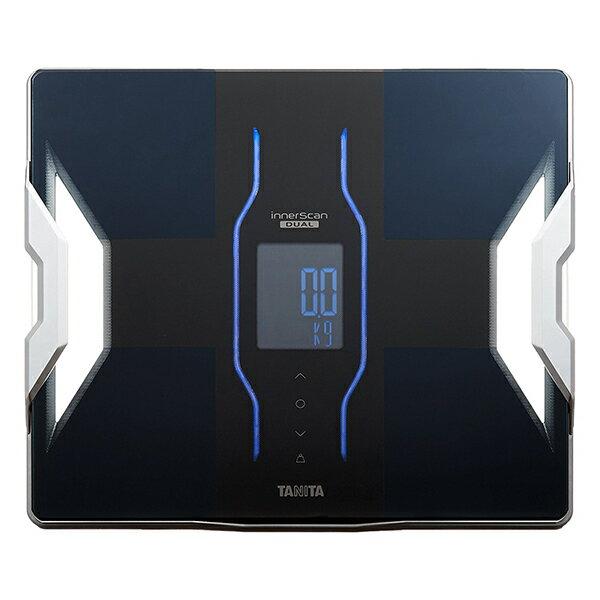 タニタTANITA体重計体組成計体脂肪計RD-906-BKブラックインナースキャンデュアルRD906スマホ対応アプリ日本製バック