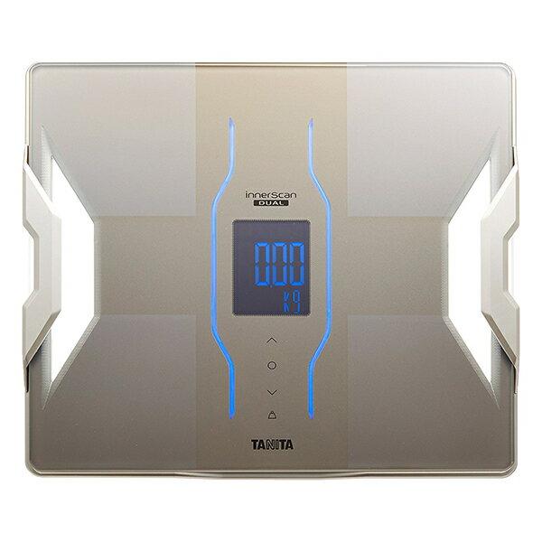 タニタTANITA体重計体組成計体脂肪計RD-907-GDゴールドインナースキャンデュアルRD907スマホ対応アプリ日本製バック