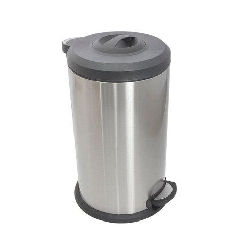 THANKO サンコー ギュギュッと圧縮ゴミ箱40L トラアッシュクボックス ペダル式ゴミ箱 40リットル ふた付き キッチン スリム 屋外 分別 清潔 DSBNCOMP