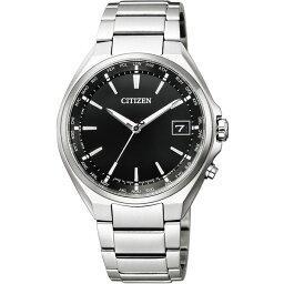 CITIZEN(シチズン) CB1120-50E ブラック×シルバー アテッサ [ エコ・ドライブ電波時計 (メンズウォッチ) ]
