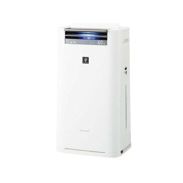 シャープ 加湿空気清浄機 KI-HS50-W ホワイト系 (空気清浄23畳 加湿15畳) 加湿/除電/高濃度プラズマクラスター25000/COCORO AIR/花粉/脱臭/ウイルス/ホコリ/パワフルショット/PM2.5対応/風邪予防/アレルギー対策/スリムボディ/AIoT/リビング/寝室/ペット/こども
