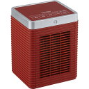 ユアサプライムス YKT-S800SM-RD レッド [セラミックヒーター(人感センサー付き)] 暖房 暖房器具 強・弱パワー切替 首振り機能 首振り機能 フィルター付き スタイリッシュ インテリア