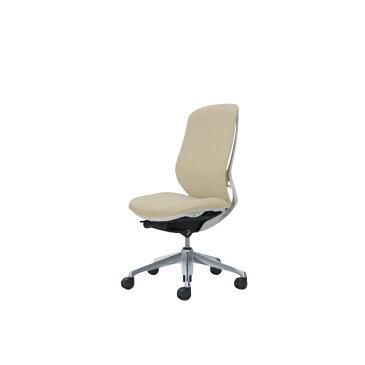 オフィスチェア デスクチェア オカムラ シルフィー 肘なし 背クッション ハイ C637BWFXW2 ベージュ ワークチェア パソコンチェア 事務椅子 イス おしゃれ 在宅ワーク テレワーク 在宅勤務 リモートワーク