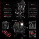 ゲーミングチェア Bauhutte バウヒュッテ RS-950RR-BK ブラック プロシリーズ ゲーム ゲームチェア リクライニング アームレスト ハイバック 【日時指定不可】メーカー直送 2