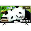 Hisense 40H38E [40V型 地上・BS・110度CSデジタル フルハイビジョン 液晶テ ...