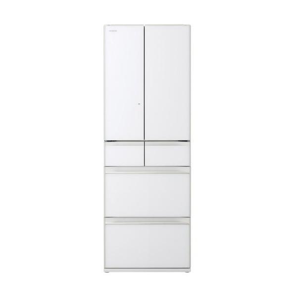 日立HITACHIR-HW48N(XW)クリスタルホワイトHWシリーズ冷蔵庫475Lフレンチドア大容量大きい省エネ見やすい取り出しやすいたくさん入る野菜室チルド室冷凍室製氷機生ものおいしく保存冷凍新鮮