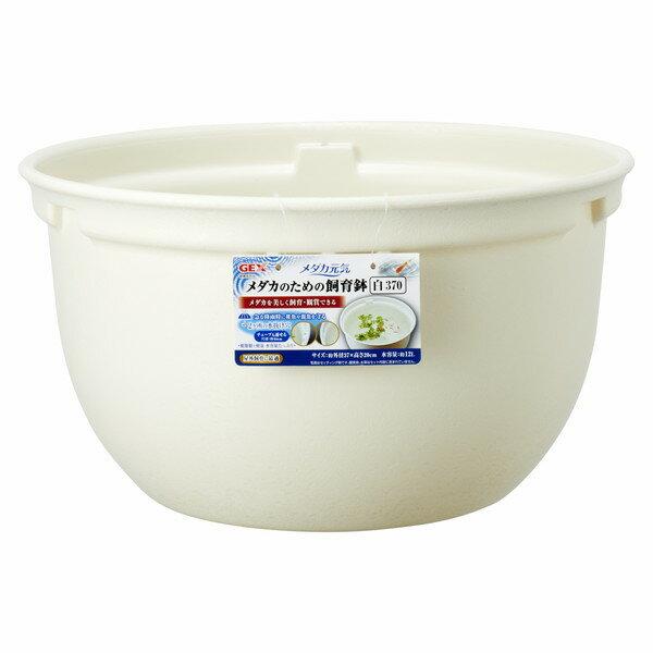 ジェックスメダカ元気メダカのための飼育鉢白370
