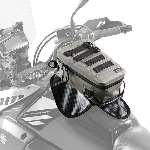 DOPPELGANGER DBT528-KH ストームカーキ [ターポリンタンクバッグ タクティクス]画像