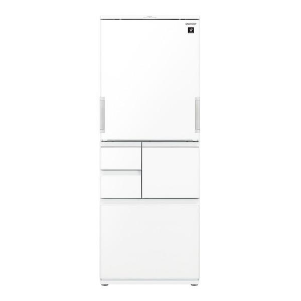 SHARP シャープ 冷蔵庫 冷蔵庫 (502L・どっちもドア) ピュアホワイト プラズマクラスター 大型 大容量 両開き 除菌 省エネ 節電 冷凍庫 SJ-AW50G-W SJAW50GW
