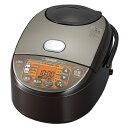 象印 炊飯器 NW-VB10-TA 5.5合炊き ブラウン IH NWVB10 おいしい おすすめ 人気 新生活 一人暮らし シンプル ふっくら